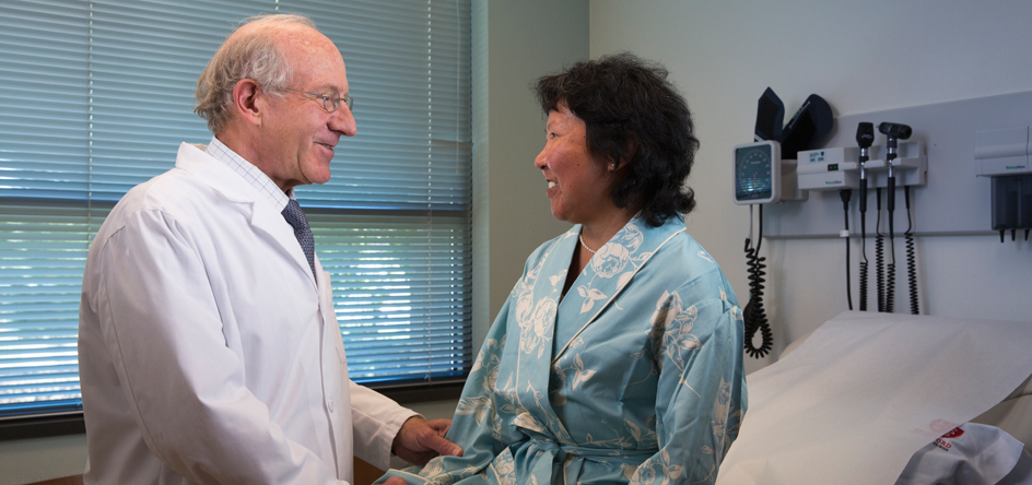Our doctors are leaders and innovators in cancer diagnosis and treatment